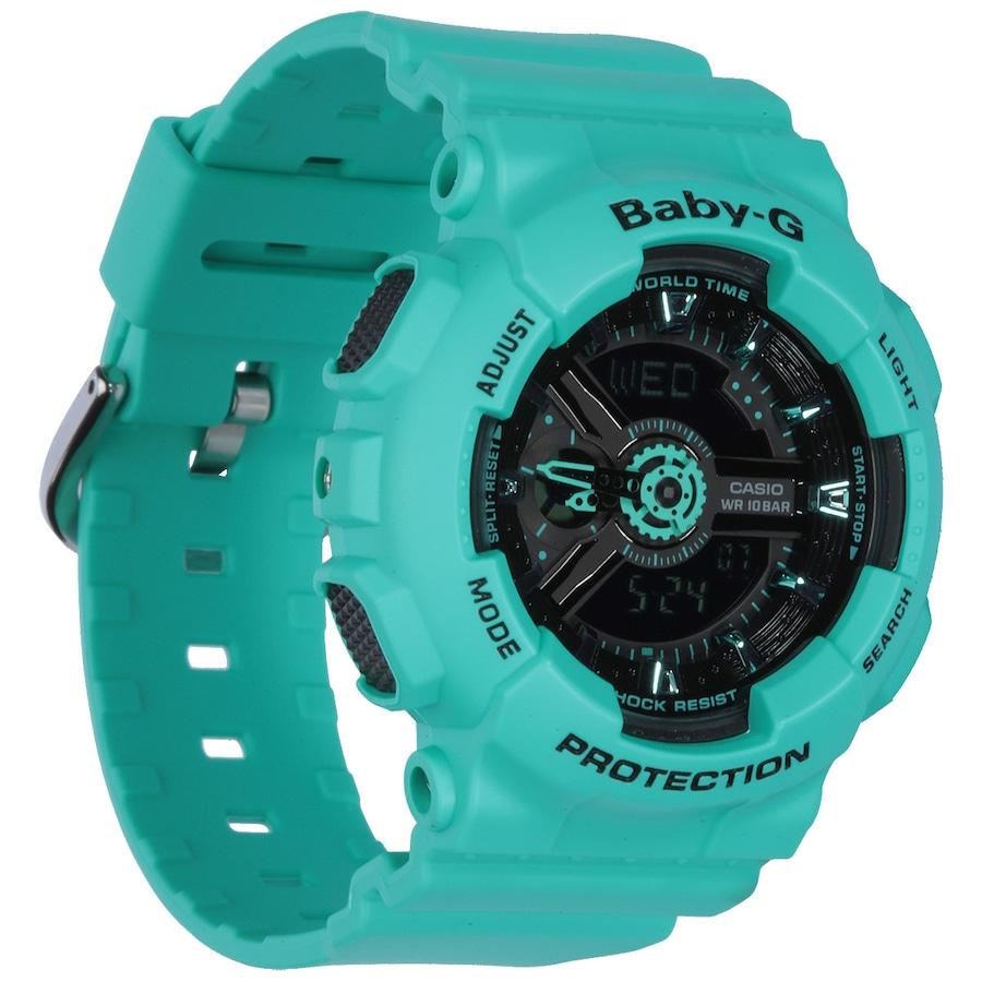4645ece925ec9 Relógio Digital Analógico Casio Baby-G BA111 - Feminino
