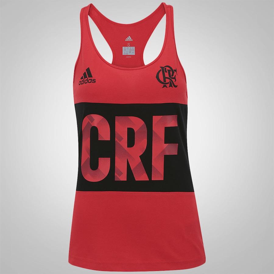 5e3c93b751 Camiseta Regata do Flamengo 2017 adidas - Feminina