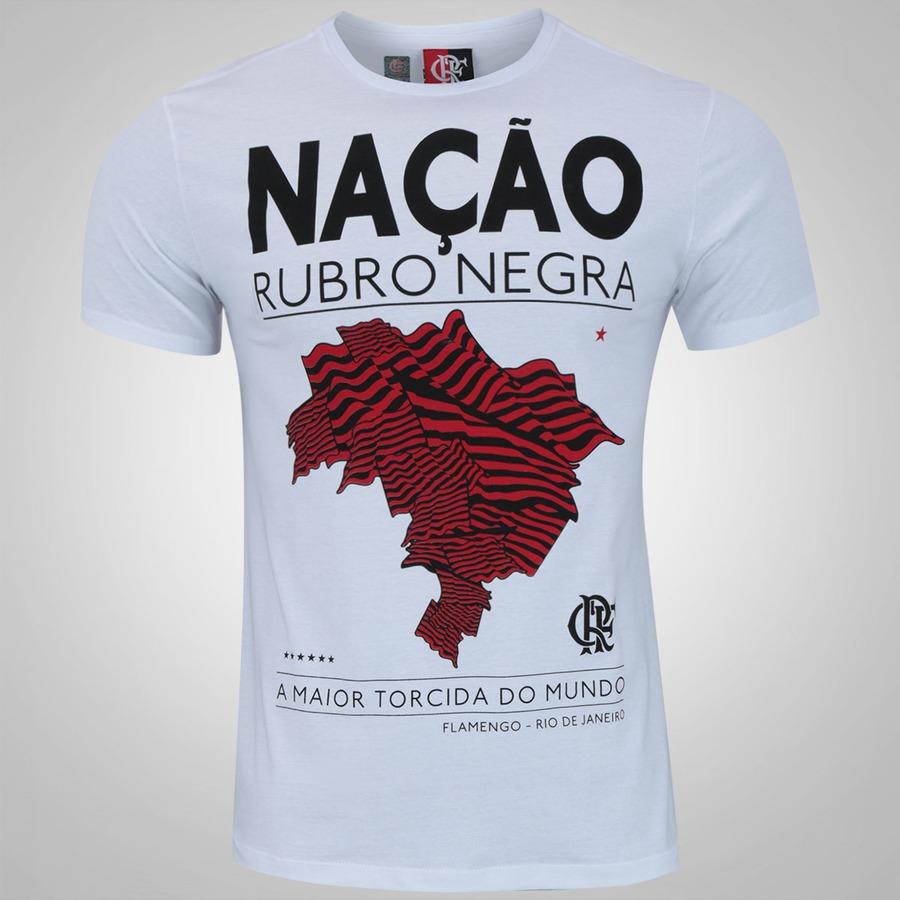 70998084d5 Camiseta do Flamengo Mapa - Masculina