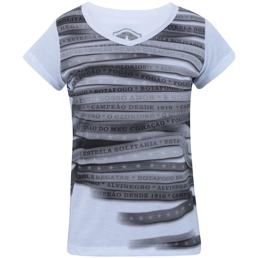 Camiseta do Botafogo Line - Feminina c63470c08d5ba