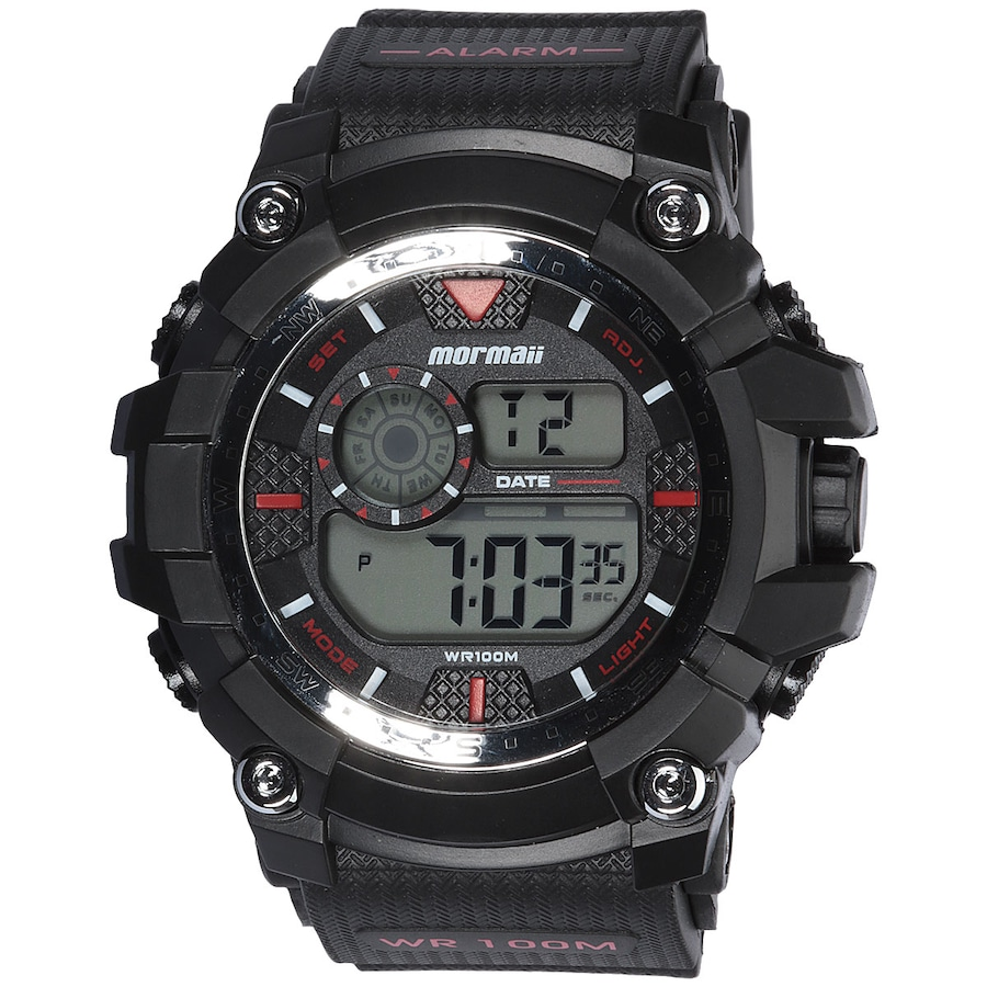 e53039f6ebb84 Relógio Digital Mormaii MO3530A - Masculino