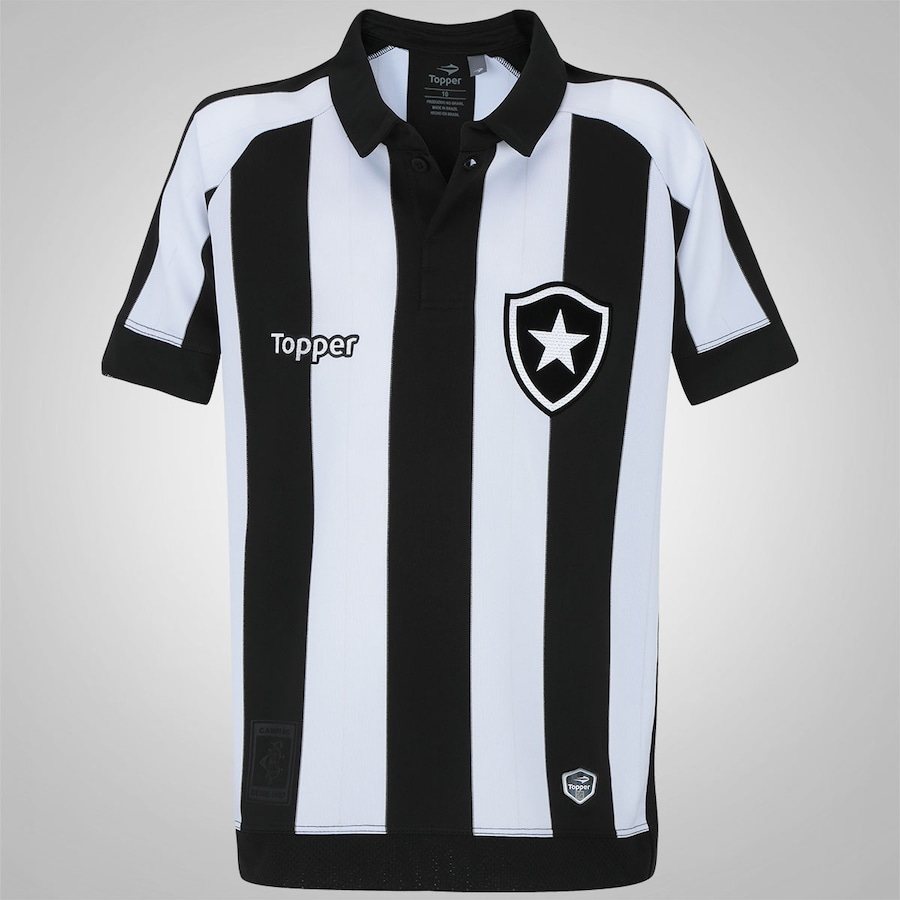 7ebdbf2a76 Camisa do Botafogo I 2017 Topper - Infantil
