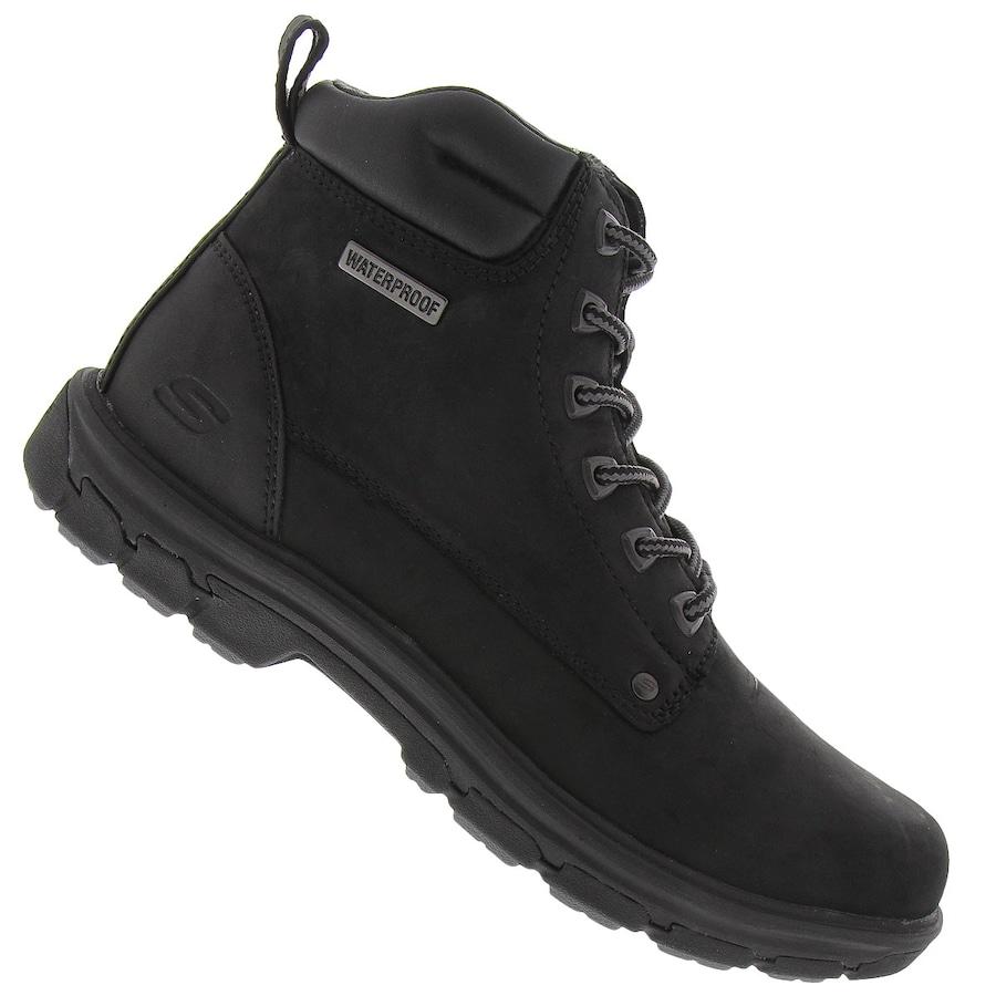 2e07217e4f5 Bota Impermeável Skechers Segment Amson Waterproof - Mascul