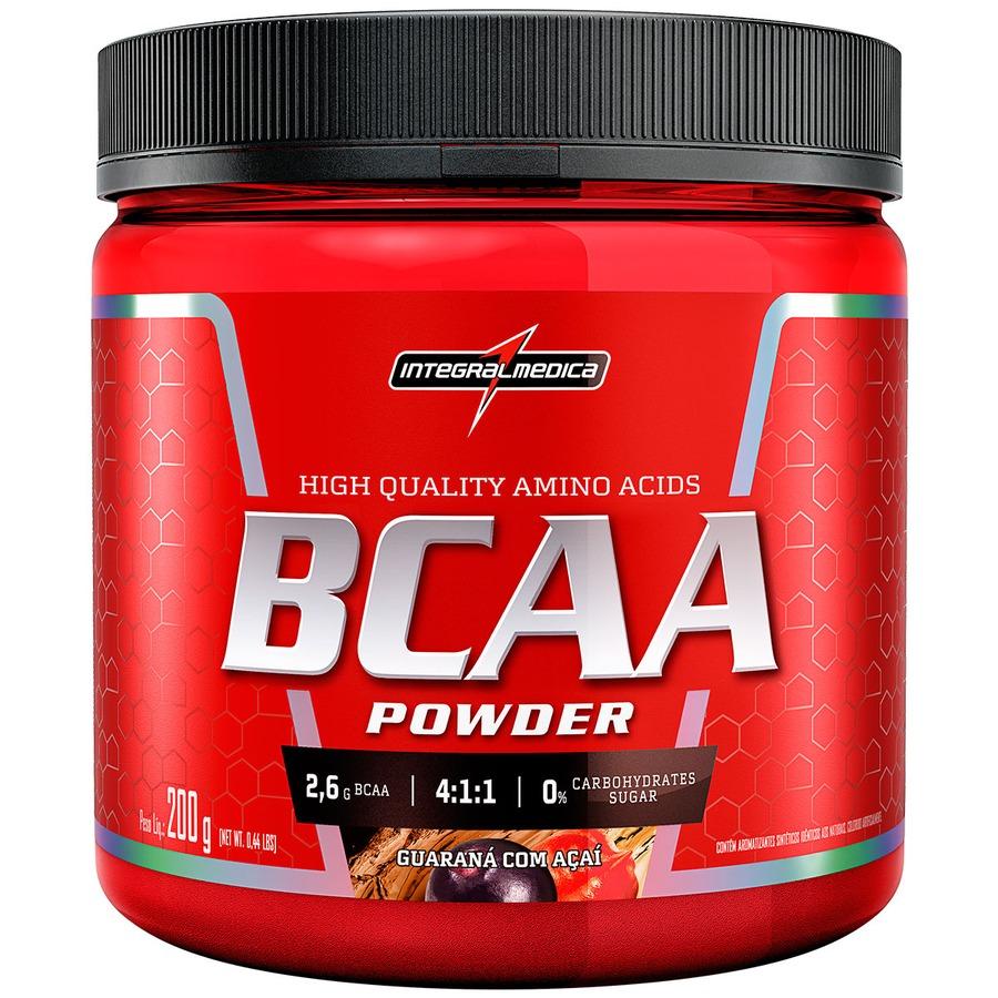BCAA Integralmédica Powder - Guaraná com Açaí - 200g