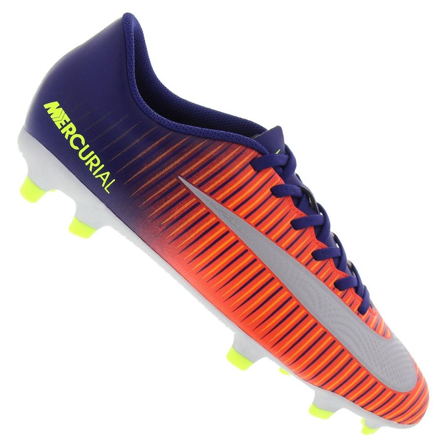 8ec4aeedff Chuteira de Campo Nike Mercurial Vortex III FG - Adulto