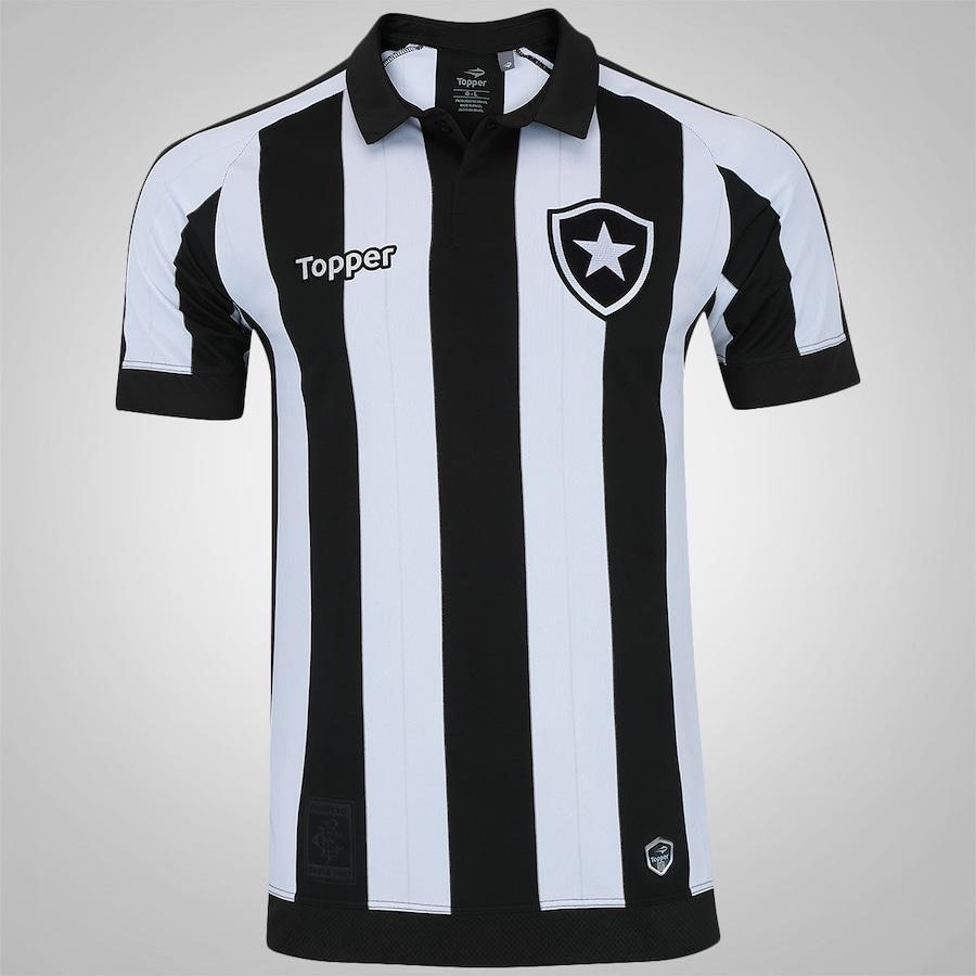 fc9c8f283e Camisa do Botafogo I 2017 Topper - Masculina