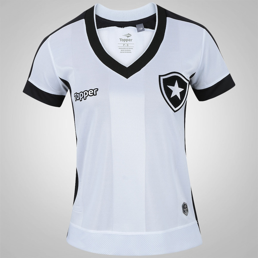 4b83b77992 Camisa do Botafogo III 2017 Topper - Feminina