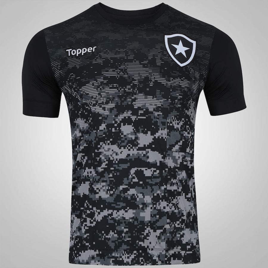 c590cc78ea Camisa de Aquecimento do Botafogo 2017 Topper - Masculina