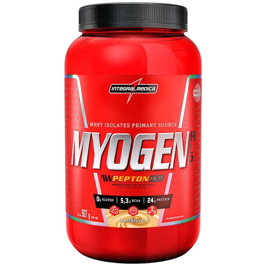 8534729778 Whey Protein Isolado Myogen HLP - Baunilha - 907g