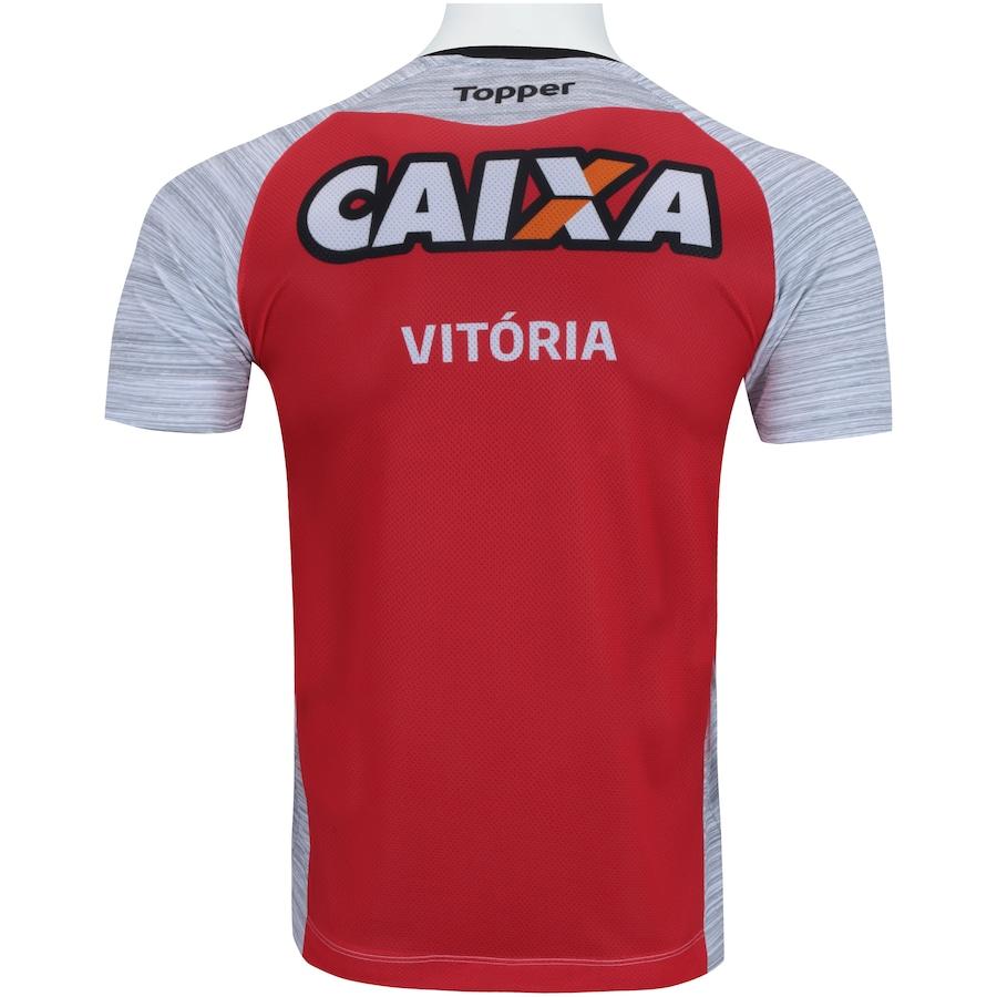9533112ae1 Camisa de Treino do Vitória 2017 Topper - Masculina