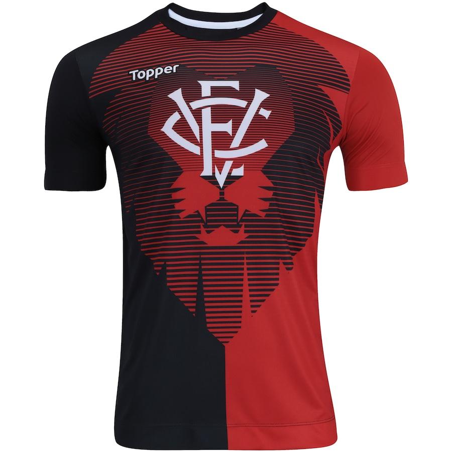 Camisa do Vitória Aquecimento 2017 Topper - Masculina e699440ae98bb