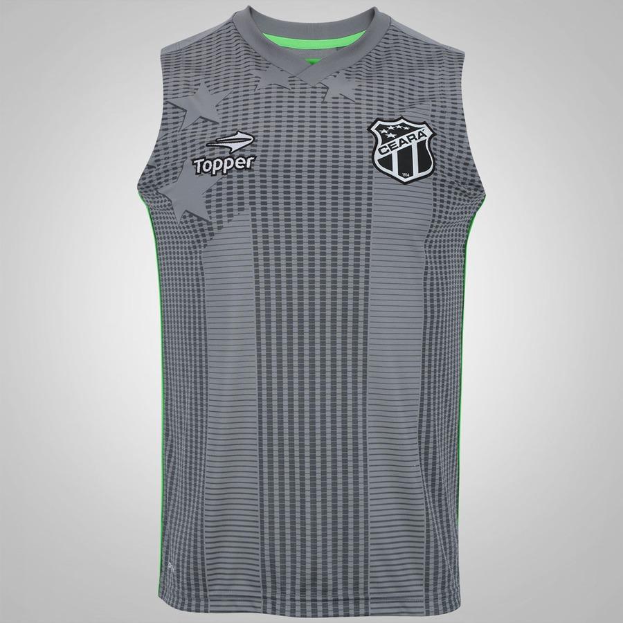 Camiseta Regata de Treino do Ceará 2016 Topper - Masculina 599e9485032da
