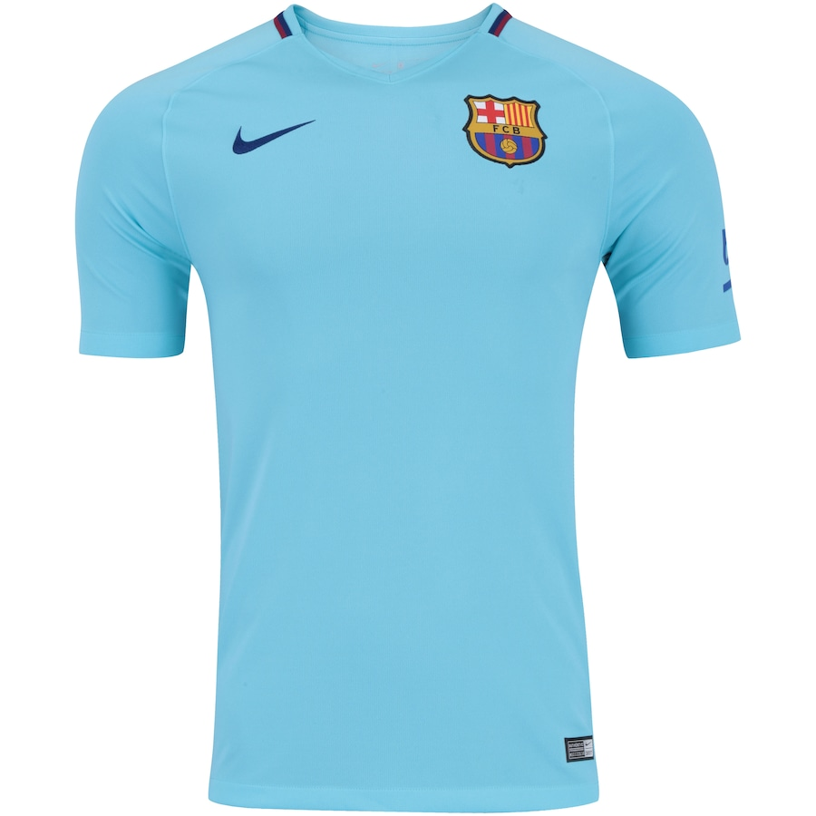 Camisa Barcelona II 17 18 Nike - Masculina dbce5bd781171