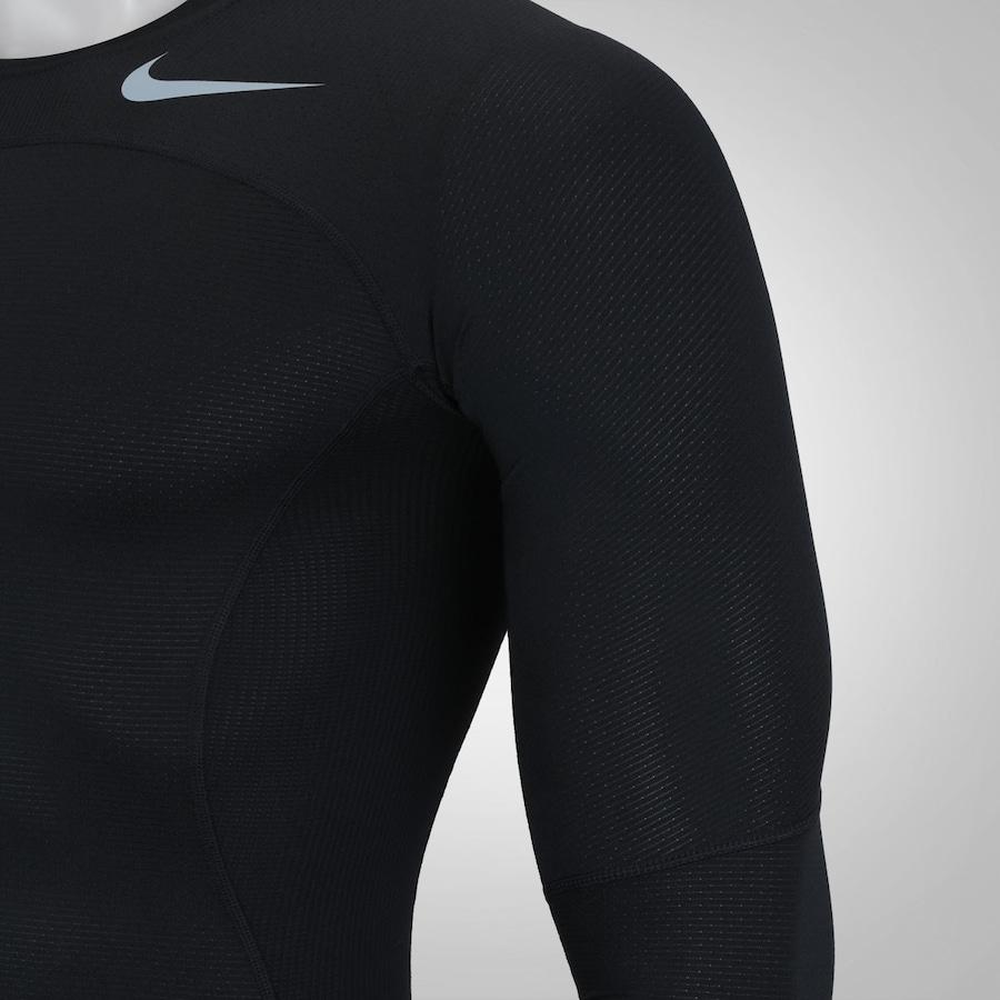... Camisa de Compressão Manga Longa Nike Pro Hypercool - Masculina cafbe26c37d9f