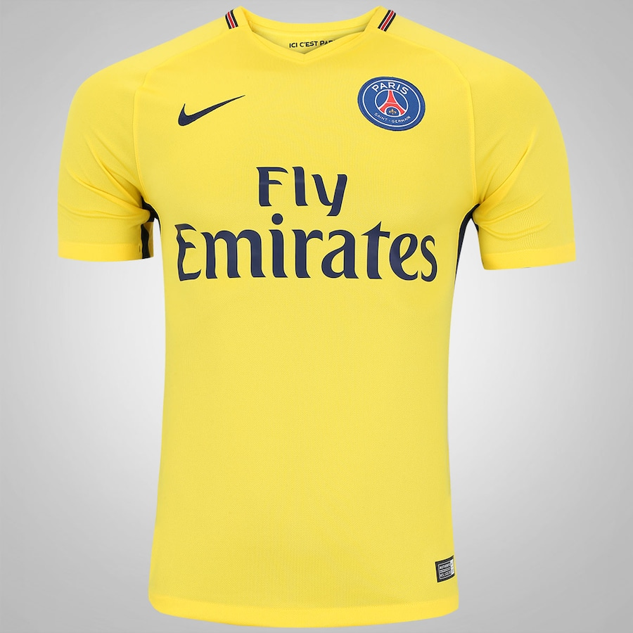 24bb5c4596 Camisa PSG II 17 18 Nike - Masculina