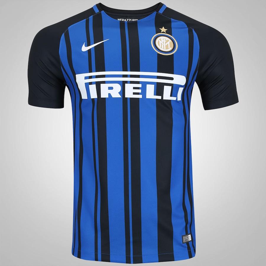 1abcfceb1ae13 Camisa Inter de Milão I 17 18 Nike - Masculina