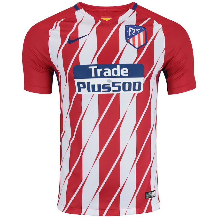 df9e3d8b6b Camisa Atlético de Madrid I 17 18 Nike - Masculina