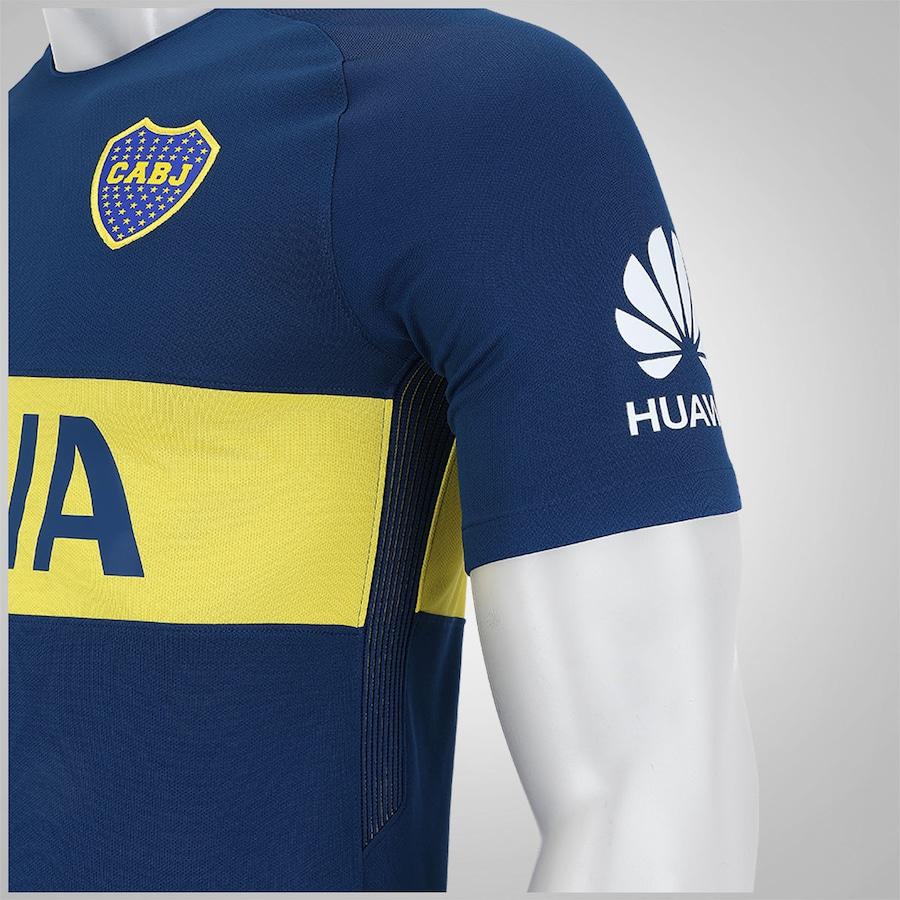 Camisa Boca Juniors I 17 18 Nike - Masculina 716db612f1044