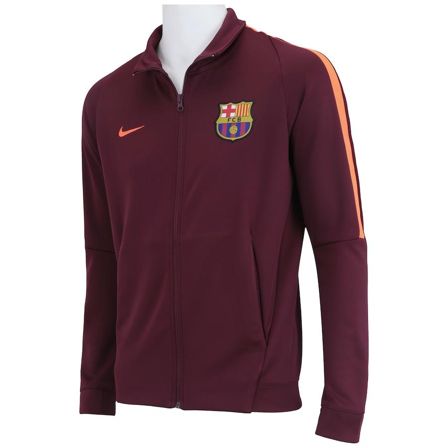 4ab0338427 Jaqueta Barcelona Nike Authentic Cup - Masculina