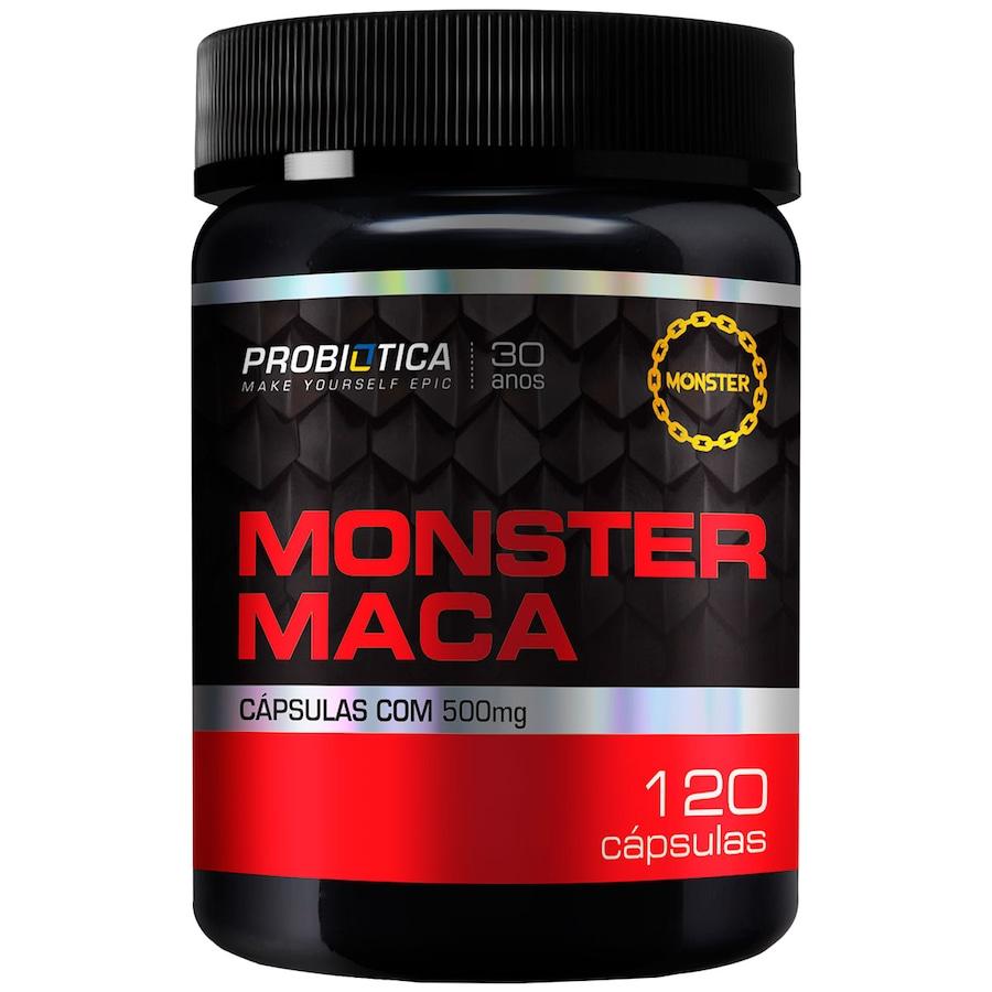 Maca Peruana Probiótica Monster Maca - 120 Cápsulas