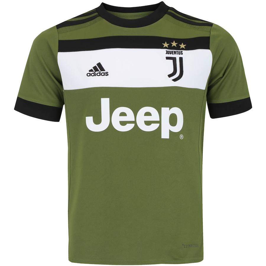 ... Camisa Juventus III 17 18 adidas - Infantil 883a04f5fa1303  Camisa  Milan Away 17 18 s nº Torcedor ... d9c7f4575040e