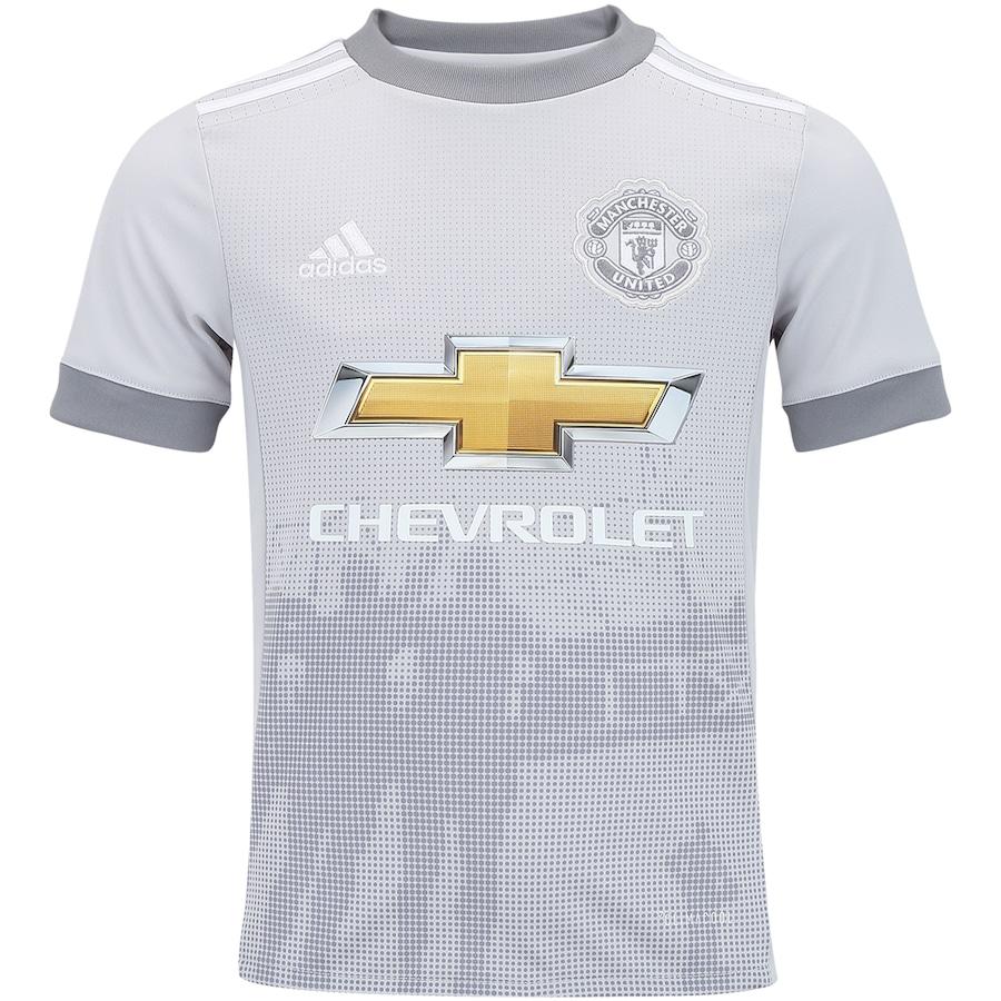 a38e95a44c Camisa Manchester United III 17 18 adidas - Infantil