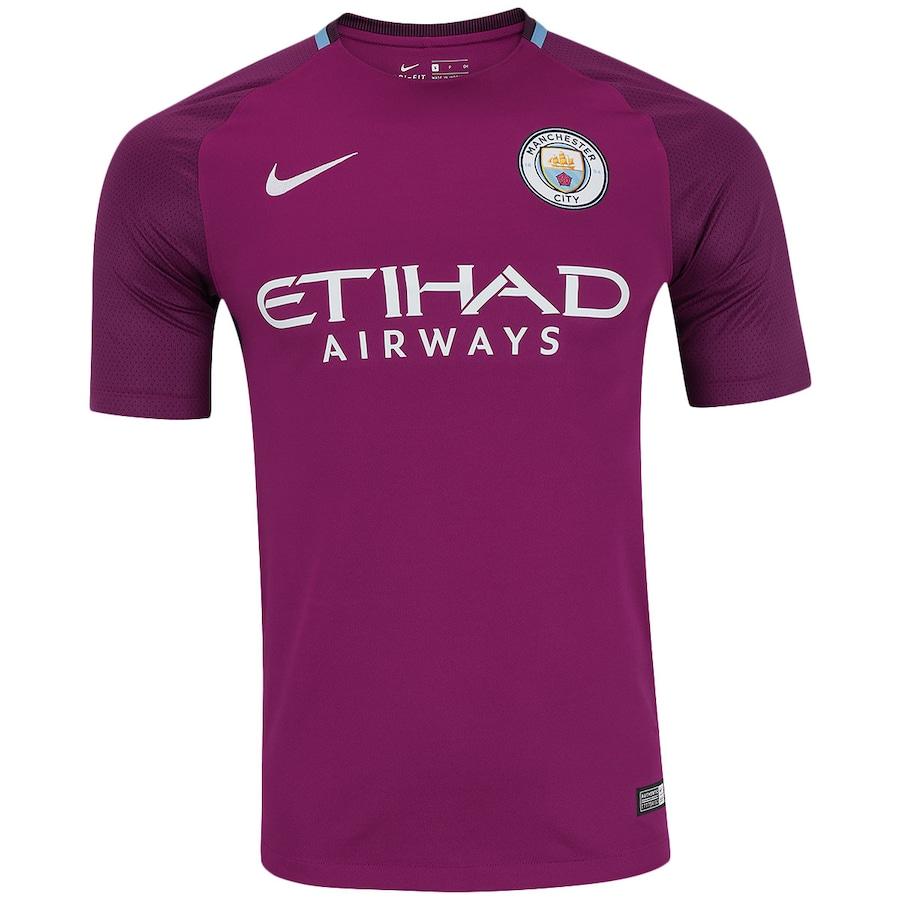 Camisa Manchester City II 17 18 Nike - Masculina 3c4e82d0e3e3e