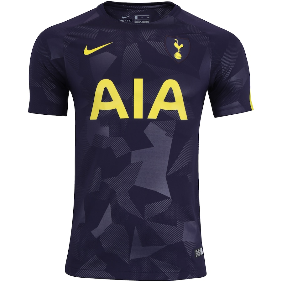 Camisa Tottenham III 17 18 Nike - Torcedor f2191669aa3