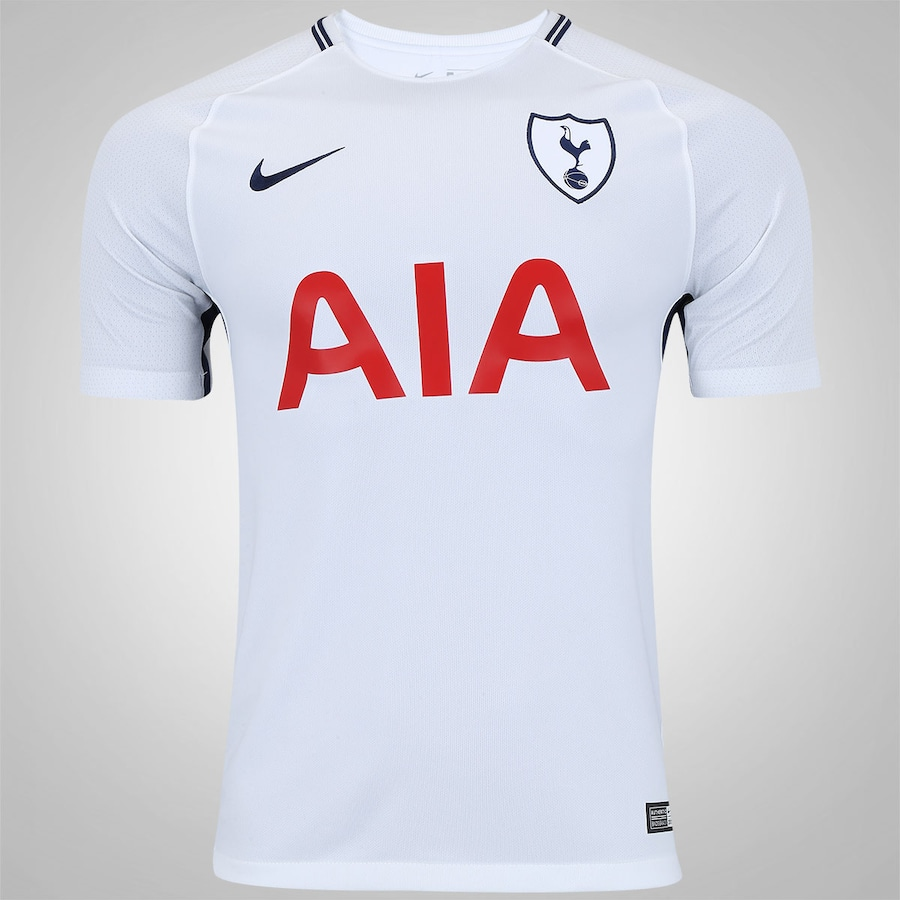 Camisa Tottenham I 17 18 Nike - Masculina 4faa05ec4b030