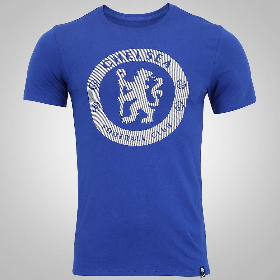 07b679b382 Camiseta Chelsea Crest Nike - Masculina