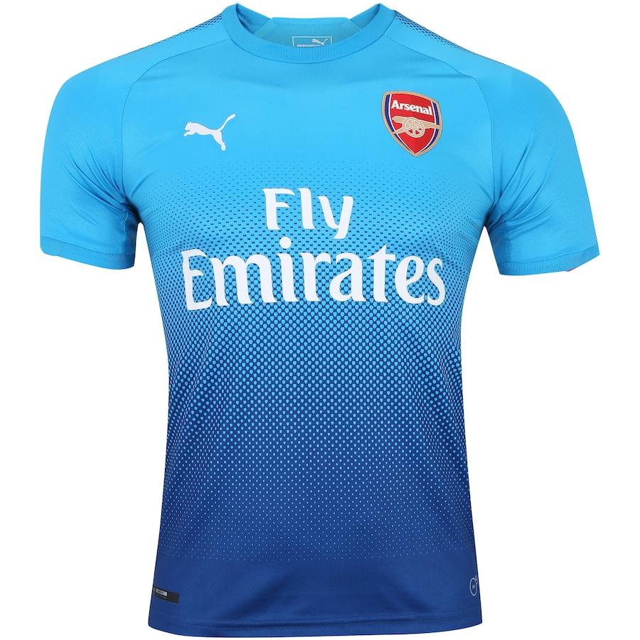 Camisa Arsenal II 17 18 Puma - Masculina cc3e039c22012