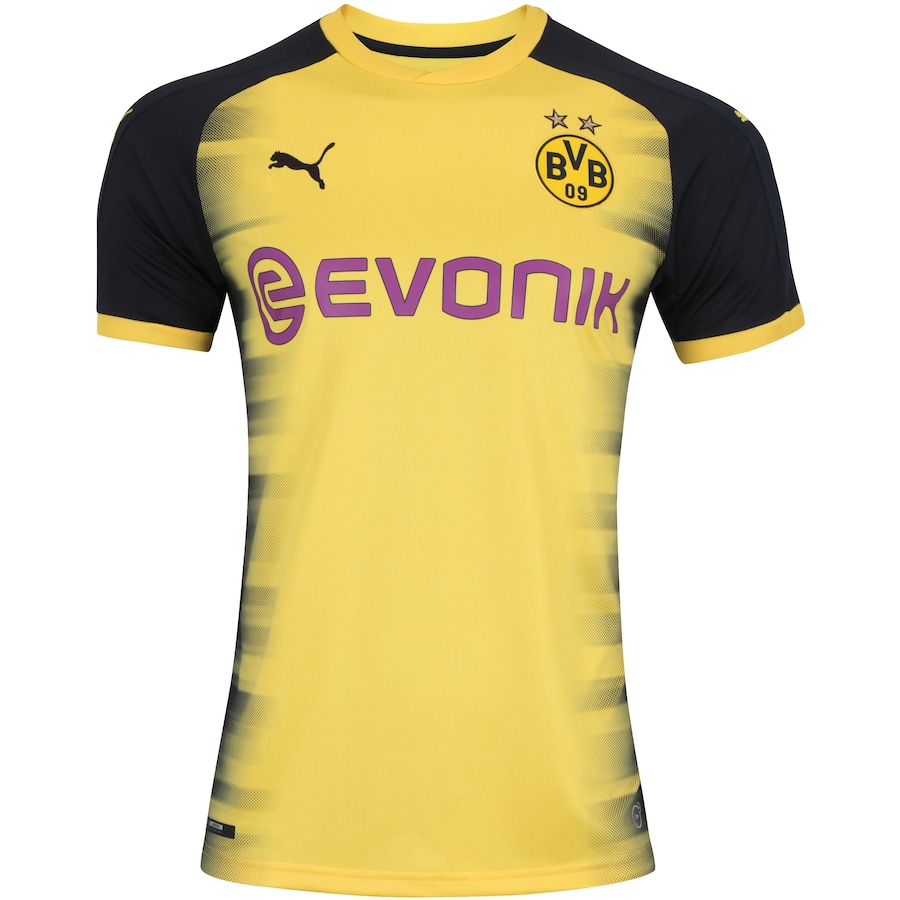 Camisa Borussia Dortmund III 17 18 Puma - Masculina 733c877c1ea71