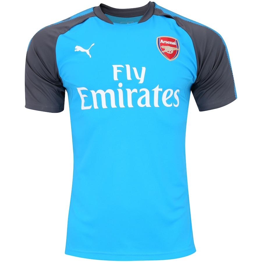 Camisa de Treino Arsenal 17 18 Puma com Patrocínio 951ed78e2174f