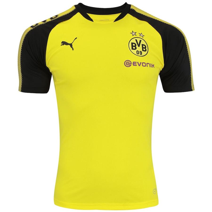 Camisa de Treino Borussia Dortmund 17 18 Puma - Masculina 3116e73a98687