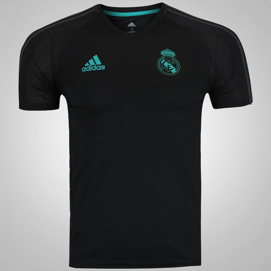 dc0cde5ec6c Camisa de Treino Real Madrid 17 18 adidas - Masculina