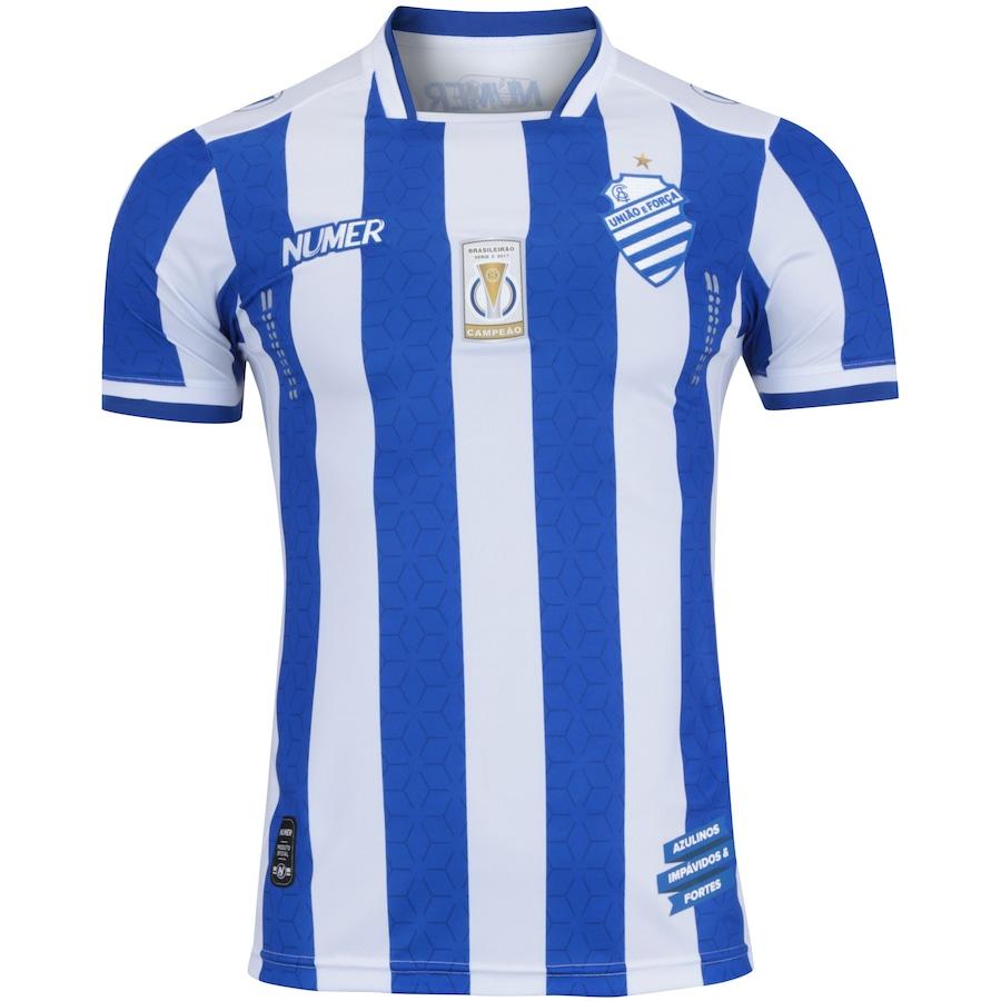 be33029ea8 Camisa do CSA I 2017 nº 10 Numer - Masculina