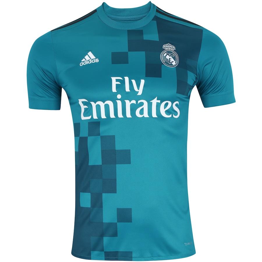 Camisa Real Madrid III 17 18 adidas - Masculina 6bf3d10d03d1f