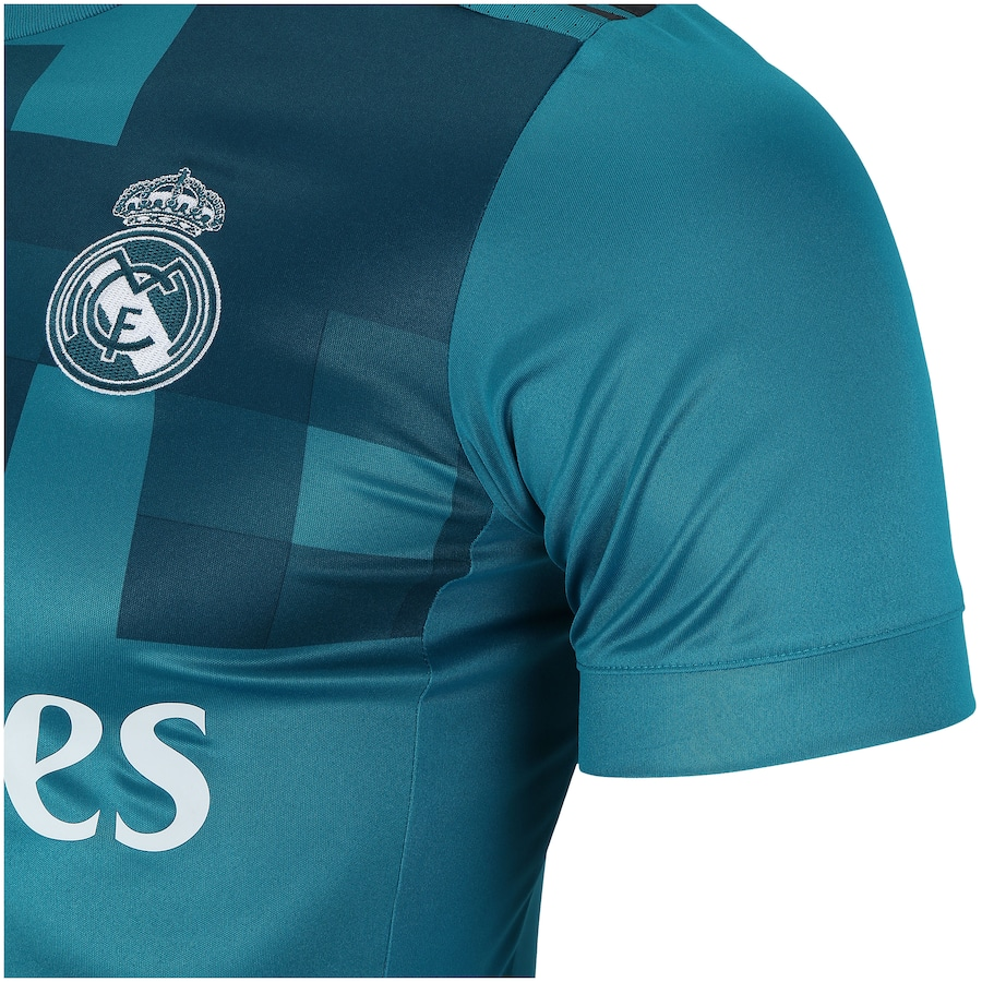 Camisa Real Madrid III 17 18 adidas - Masculina 0bd53582e8a07