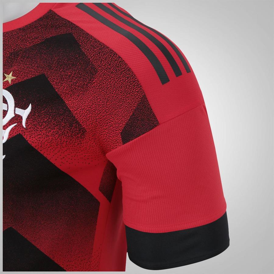 60cc8bc0dde52 ... Camisa Pré-Jogo do Flamengo 2017 Longline adidas - Masculina