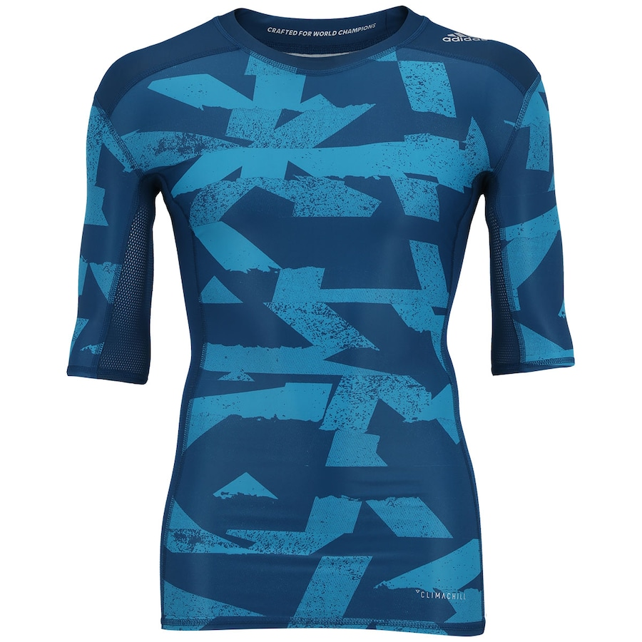 69e4daef9b0e9 Camisa de Compressão adidas Techfit CI GX - Masculina