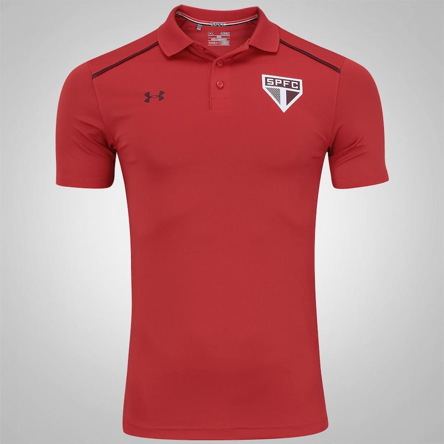 a418ea1a4e Camisa Polo do São Paulo 2017 Under Armour - Masculina