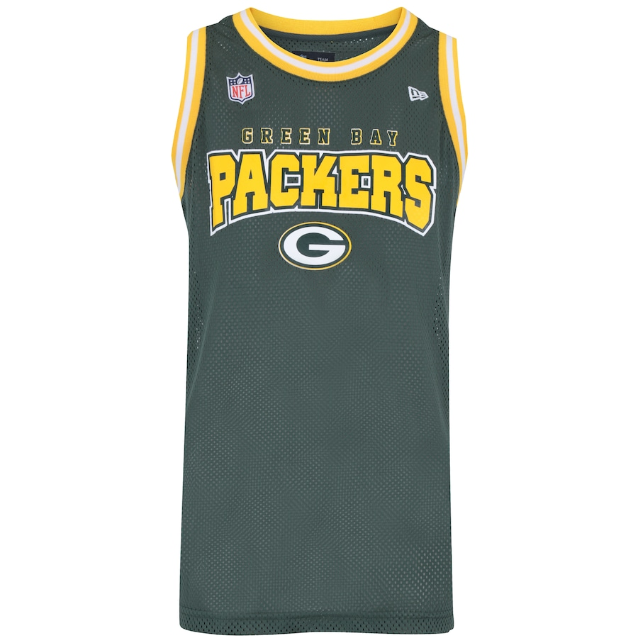 250e86f86 Camiseta Regata Green Bay Packers New Era Vein Rib - Mascul