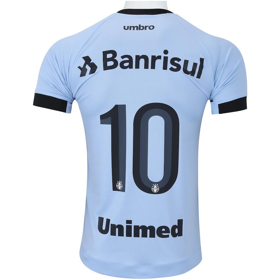 Camisa do Grêmio II 2017 nº 10 Umbro - Masculina c0faf6d823409