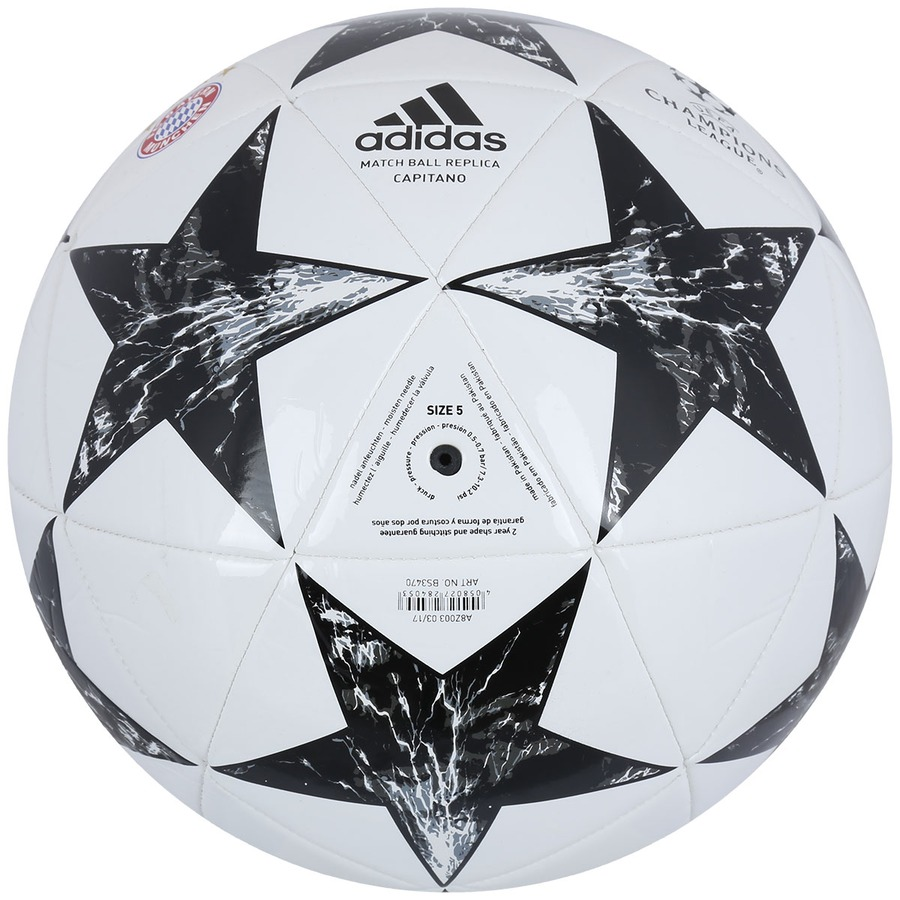 ... Bola de Futebol de Campo adidas Bayern de Munique Finale 17 Capitano ... 268fe7496b1ef