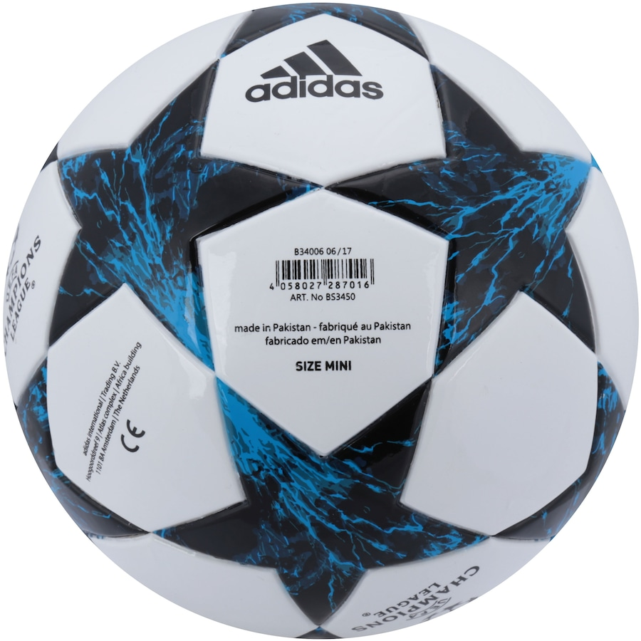 Minibola de Futebol de Campo adidas Real Madrid Finale 17 44106d9b23689