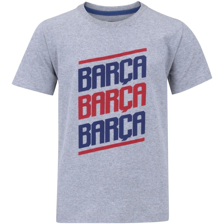 Camiseta Barcelona Barça - Infantil e9655f31ec7