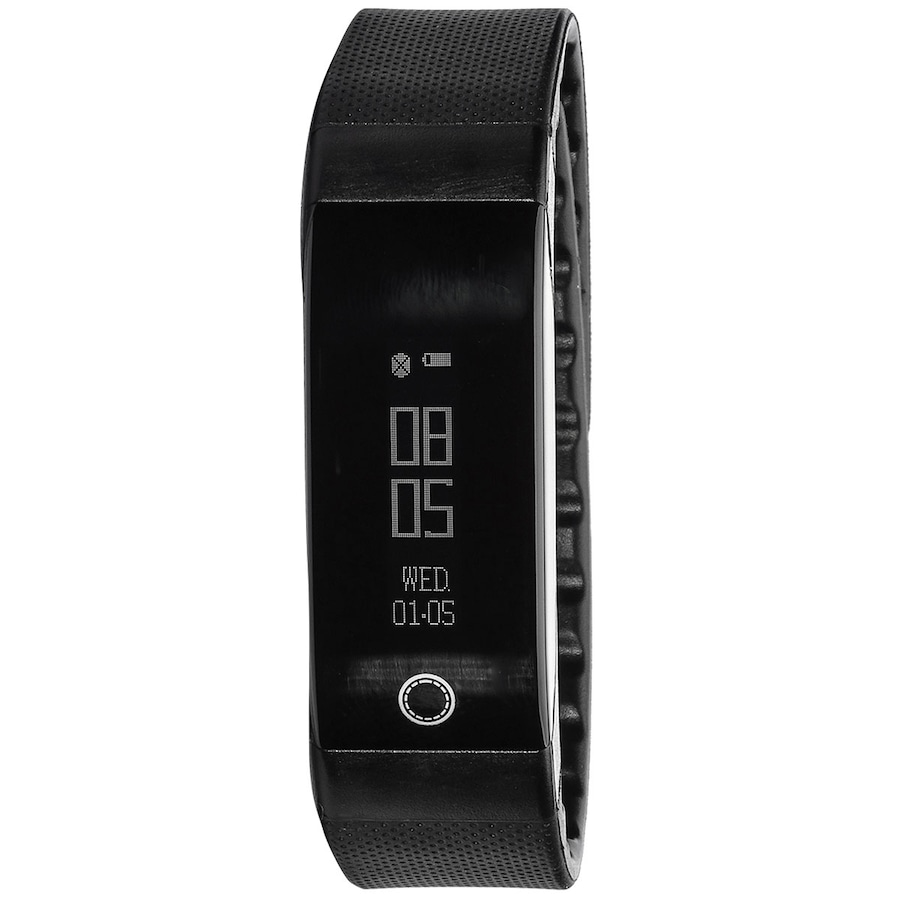 Pulseira Inteligente Fitness com Monitor Cardíaco Mormaii 9eb29725a2