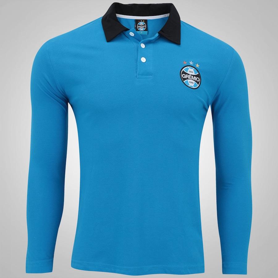 5d22cb5c6287c Camiseta Manga Longa do Grêmio Meltex - Masculina