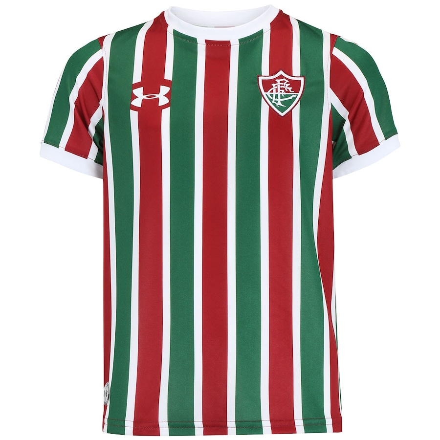 Camisa do Fluminense I 2017 Under Armour - Infantil a34449ff30dc8