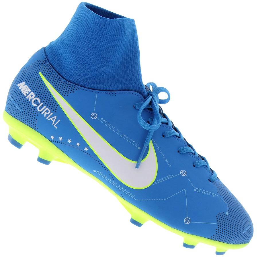 Chuteira de Campo Nike Mercurial Neymar FG - Infantil 343427636372f